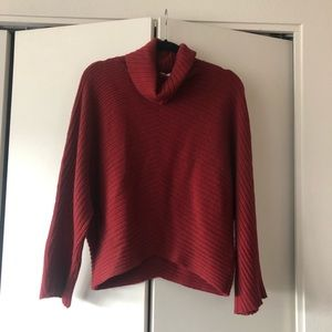 Anthropologie Moth Turtleneck Neck Sweater Size S